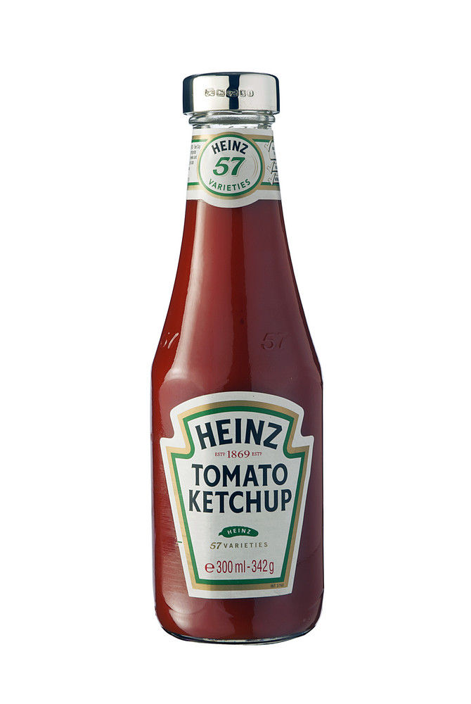 Sterling Silver Capped Heinz Tomato Ketchup