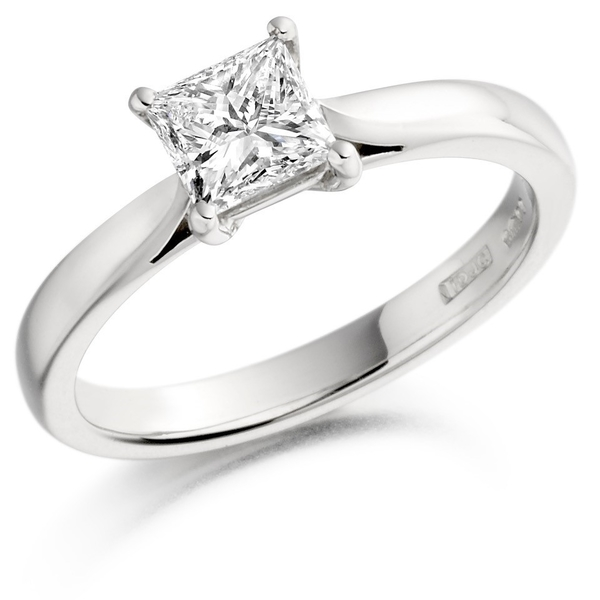 18ct White Gold 0.40ct Diamond Solitaire Ring