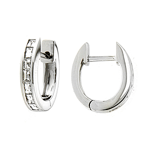 Jacobs Presents 18ct White Gold 0 64ct Diamond Earrings