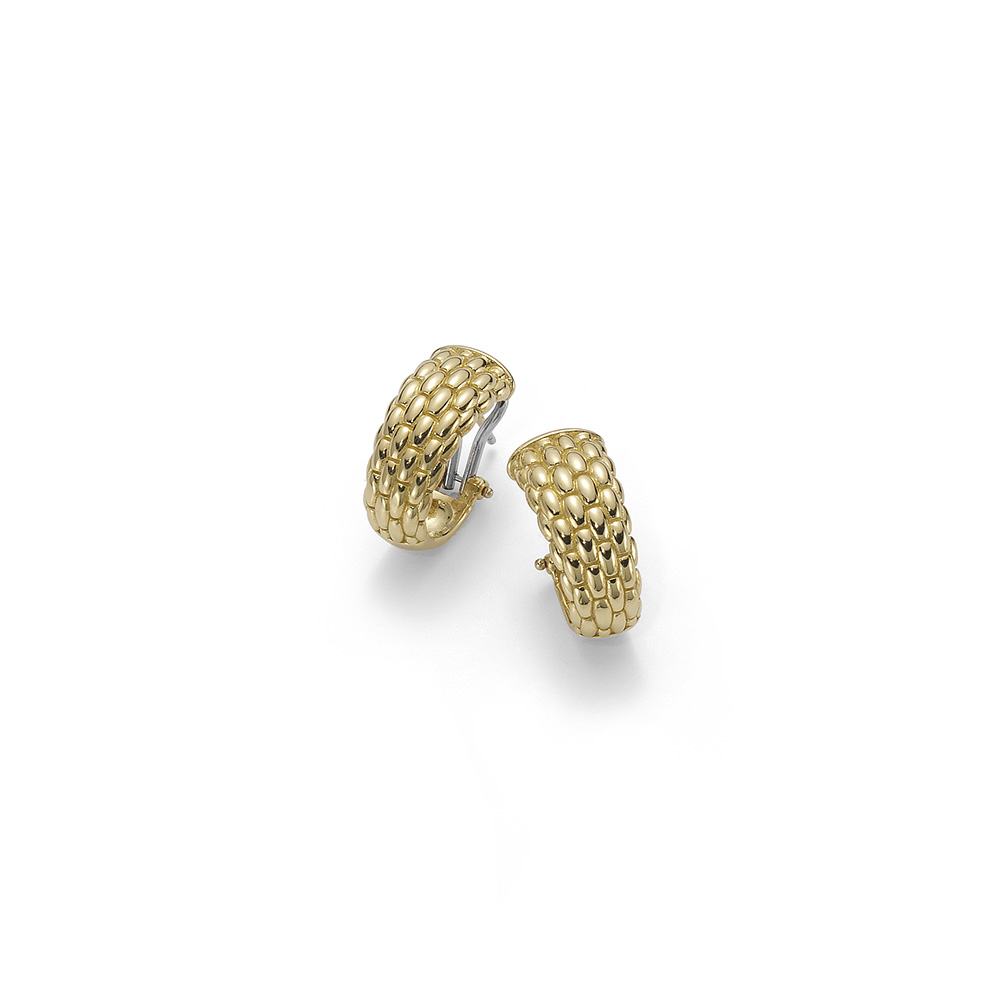 FOPE 18ct Yellow Gold Lux Earrings