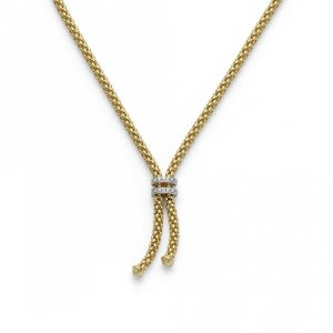 18ct Yellow Gold Fope Maori Necklace