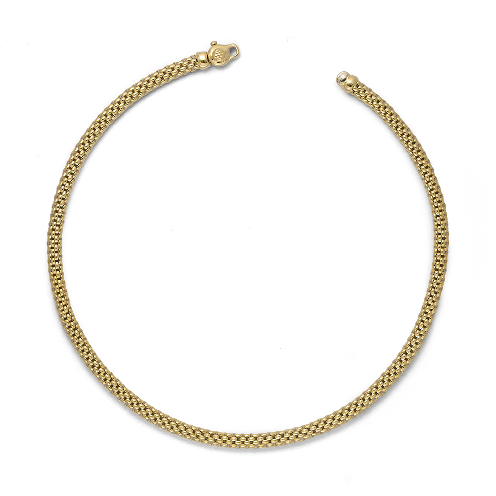 18ct Yellow Gold Fope Meridiani Necklace