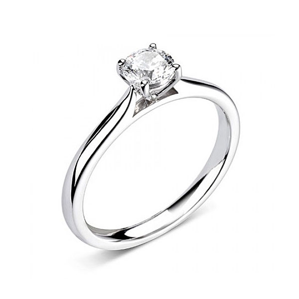 Fairtrade 18ct White Gold 0.45ct CanadaMark Diamond Ring