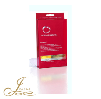 Connoisseurs GOLD jewellery cleaning cloth
