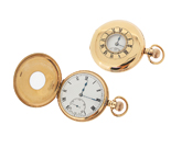 Second Hand 9ct Gold Pocket Watch