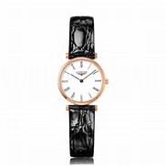 Longines Ladies La Grand Classique rose gold plated watch