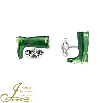 Wellington Boot Cufflinks
