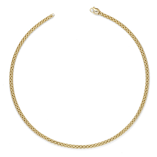 18ct Yellow Gold Fope Venezia Necklace