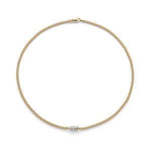 18ct Yellow Gold Fope Prima Necklace