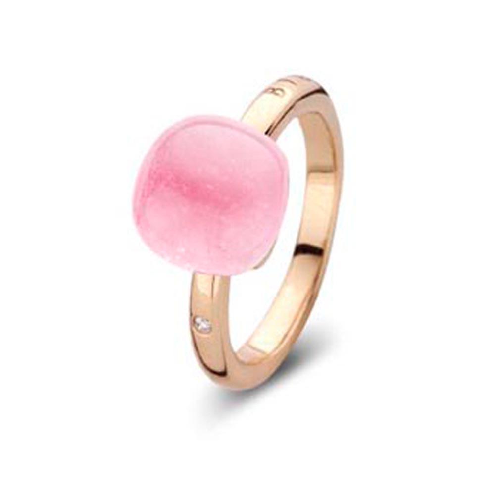 Gianfranco Bigli Mini Sweety Pink Quartz Ring