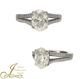 Glamourous SecondHand Diamond Engagement Rings from Reading Jewellers
