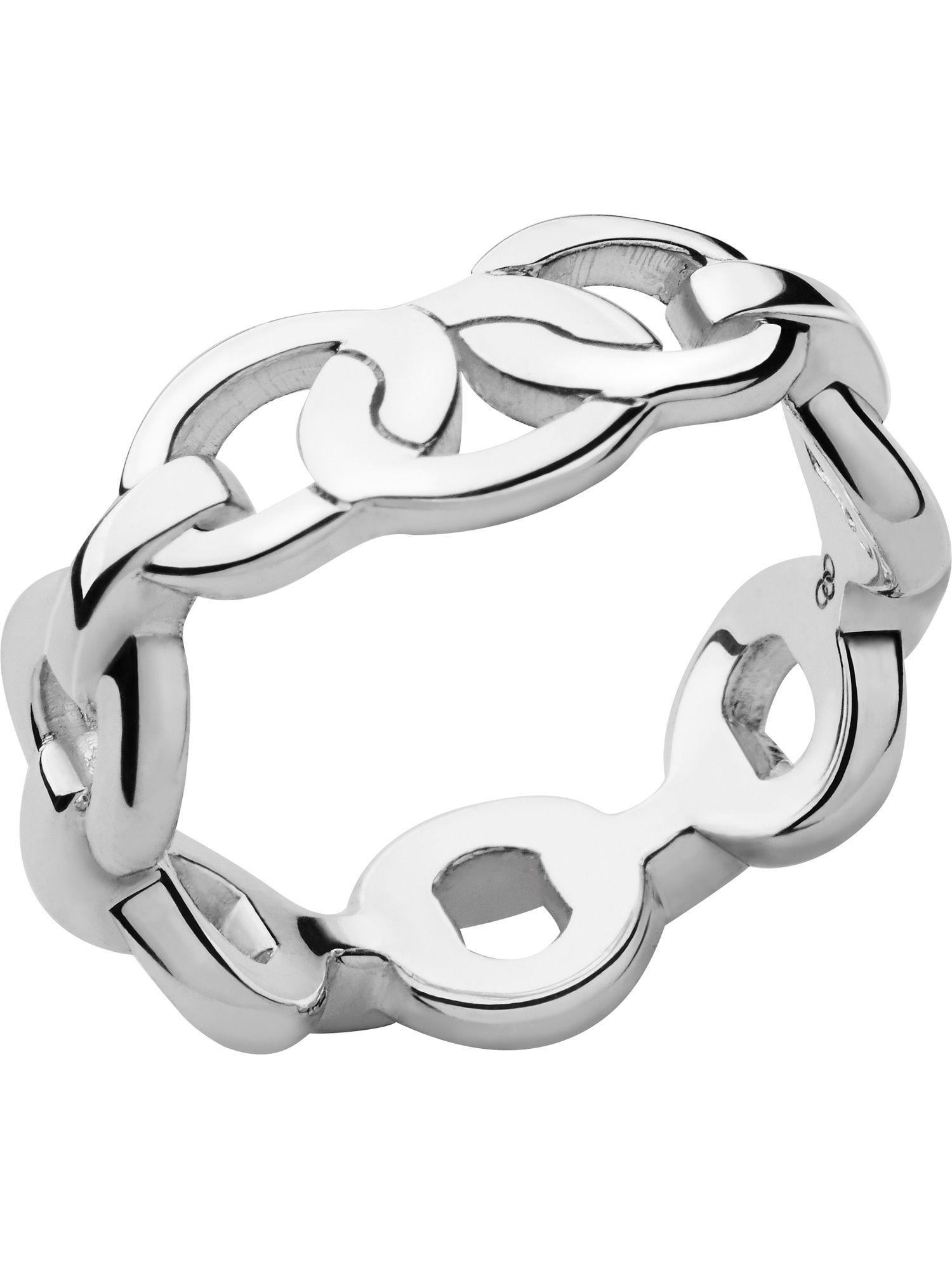 Silver Infinity ring. Size N