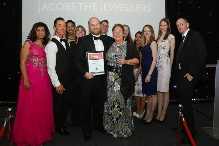 Proud Jacobs The Jewellers in Reading Staffs Recognised As Independent Retailer of the Year
