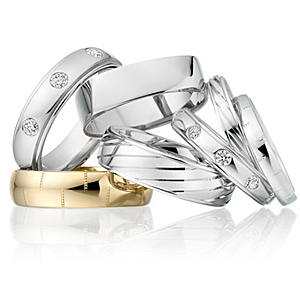 We can help you select the perfect wedding rings
