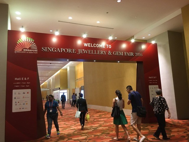 Jacobs visit Singapore Jewellery + Gem fair 2016