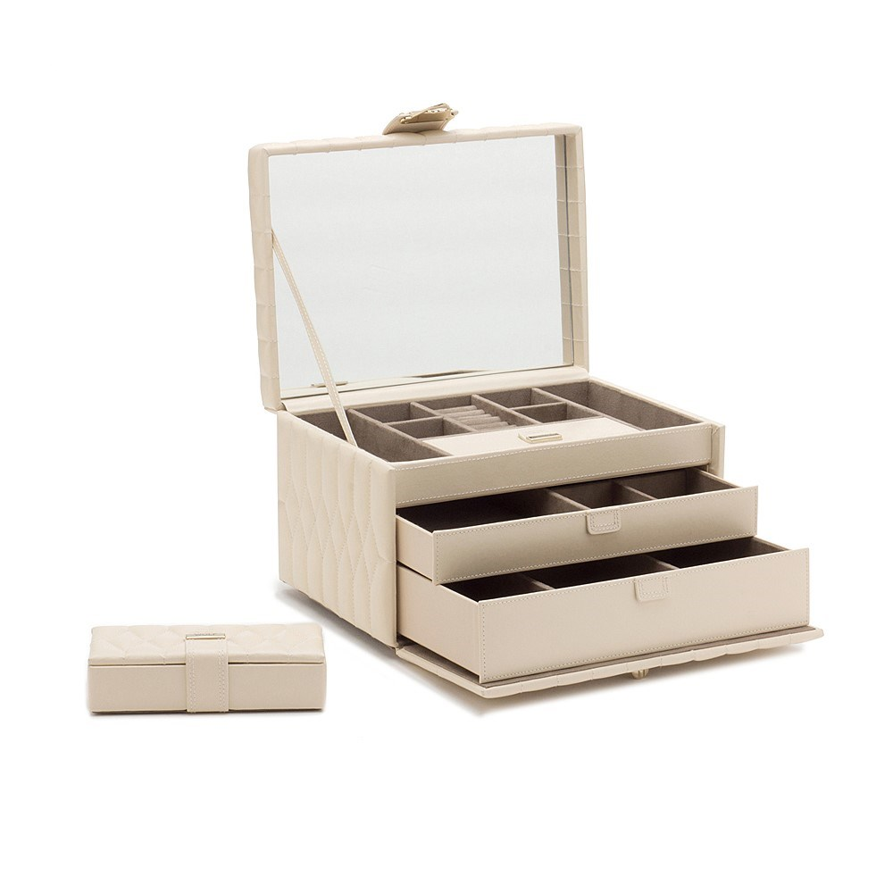 You can Place All Your Rings in Stylish Wolf Jewellery Boxes and Cases