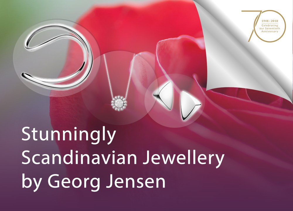 Stunningly Scandinavian Jewellery by Georg Jensen