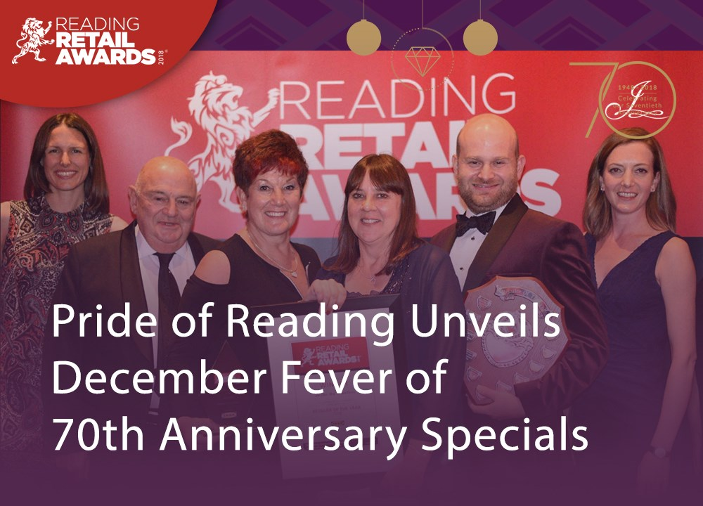 Pride of Reading Unveils December Fever of 70th Anniversary Specials