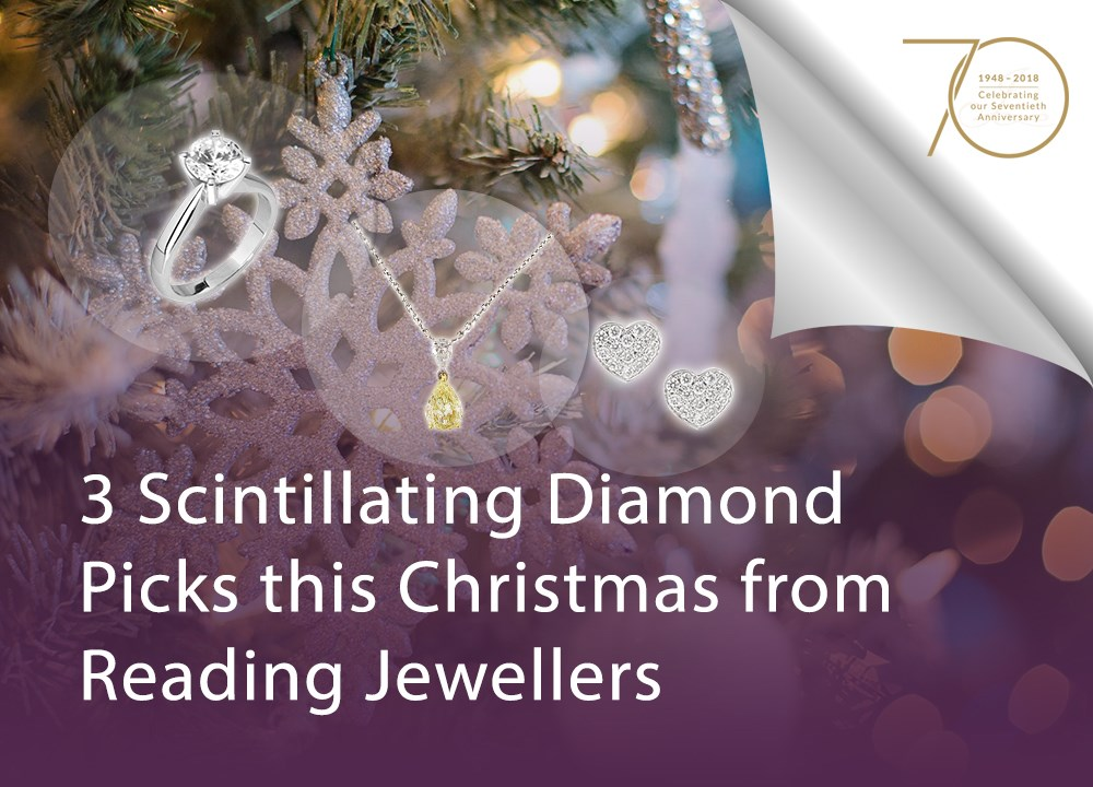 3 Scintillating Diamond Picks this Christmas from Reading Jewellers