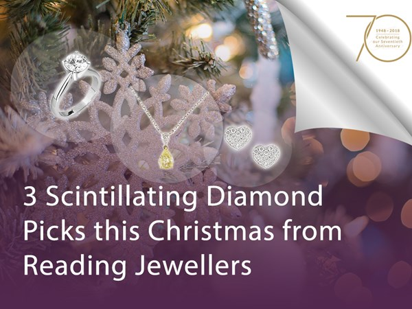3 Scintillating Diamond Picks this Christmas from Reading Jewellers image