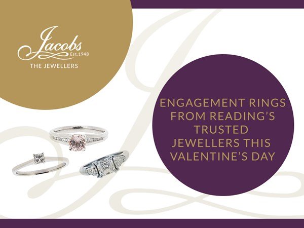 Engagement Rings from Reading's Trusted Jewellers this Valentine's Day image