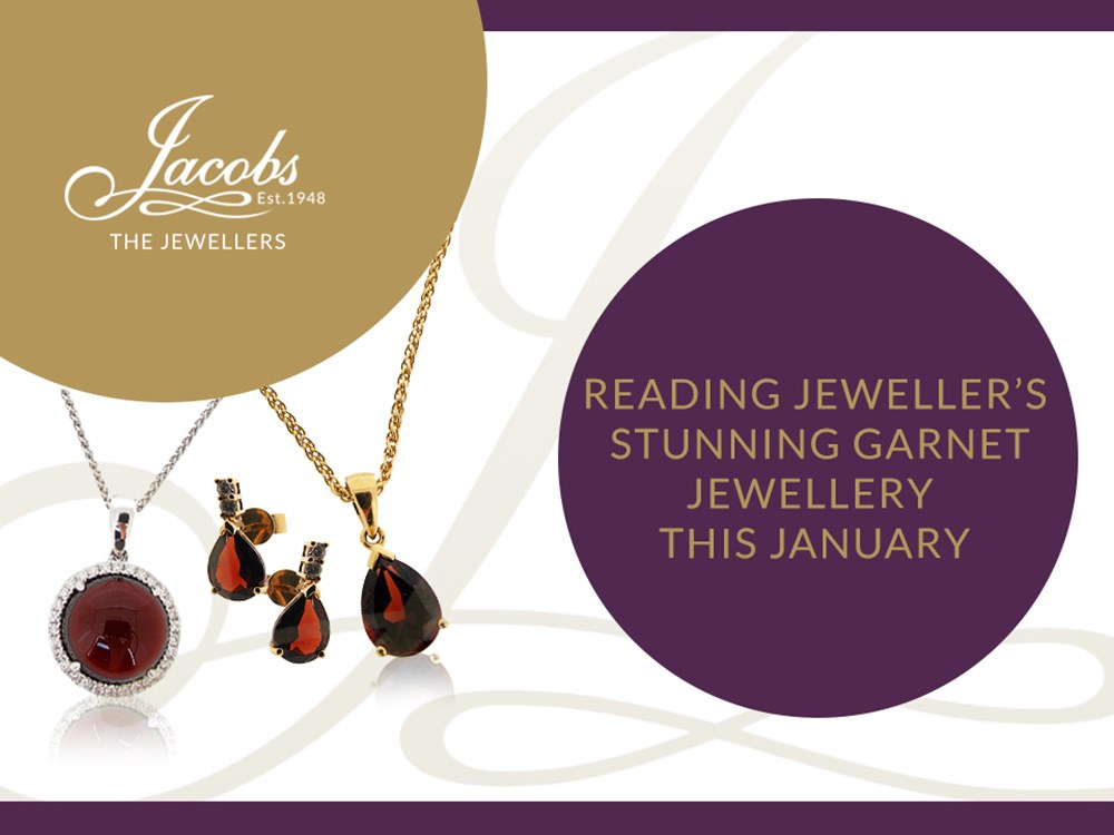 Reading Jeweller's Stunning Garnet Jewellery this January image