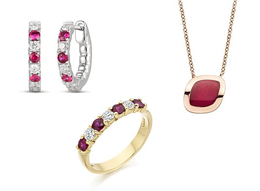 Birthstone of the month: July's birthstone is rich warm ruby