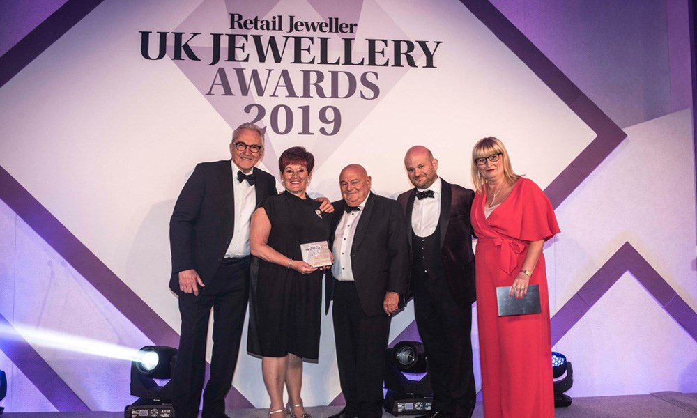 Jacobs the Jewellers scoops a 2019 UK Jewellery Award for Best Customer Event