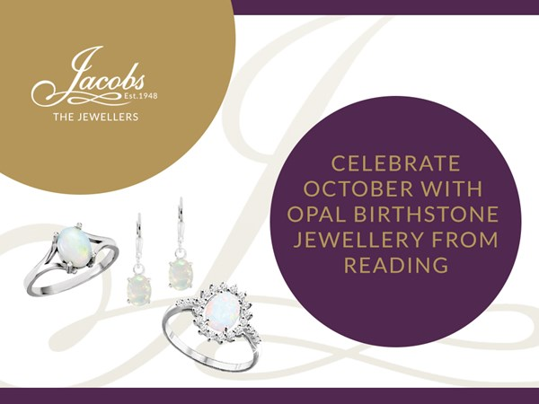 Celebrate October with Opal Birthstone Jewellery from Reading image