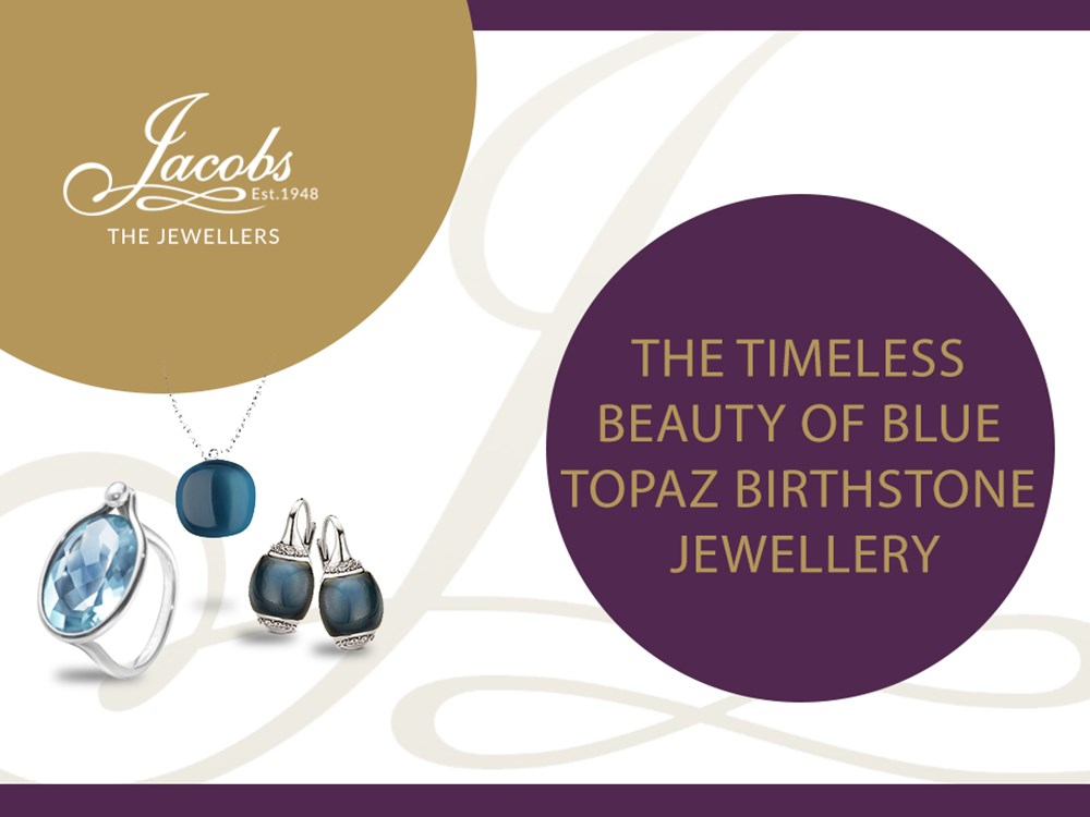 The Timeless Beauty of December's Blue Topaz Birthstone Jewellery image
