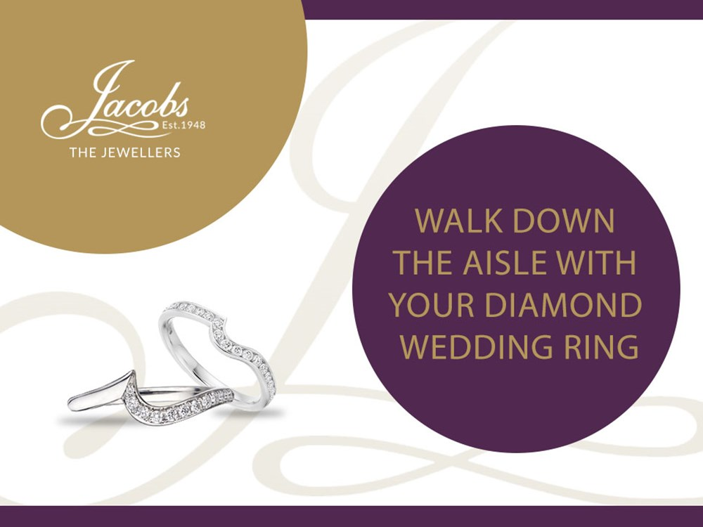 Walk Down the Aisle With Your Diamond Wedding Ring