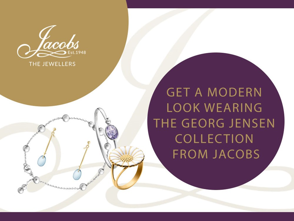Get a Modern Look Wearing the Georg Jensen Collection from Jacobs
