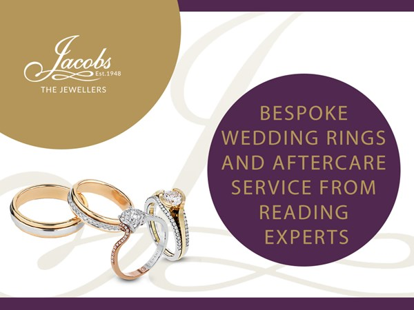 Bespoke Wedding Rings and Aftercare Services from Reading Experts image