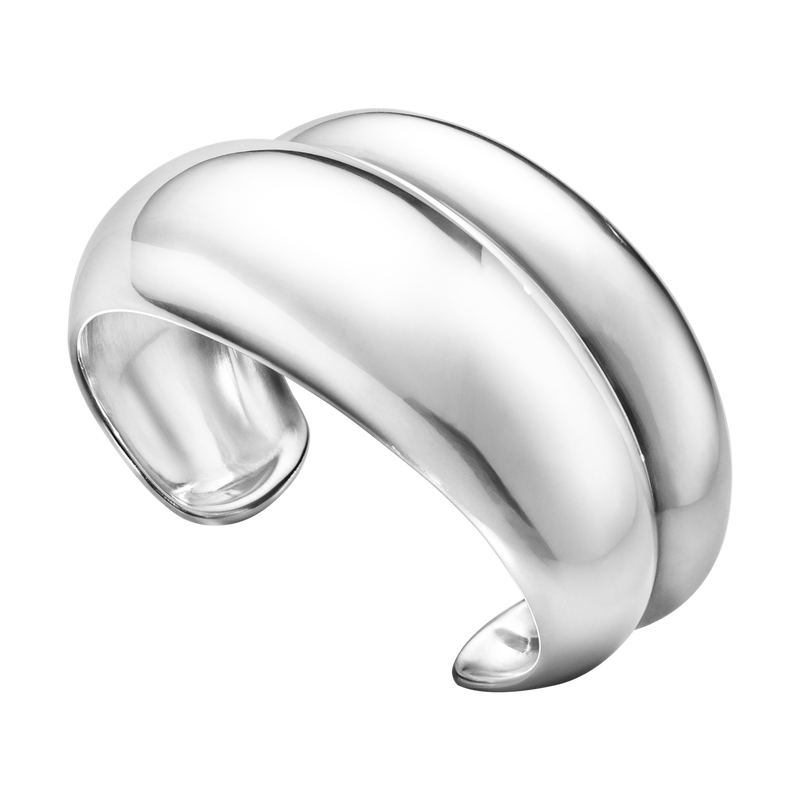 Georg Jensen Curved Ring Collection