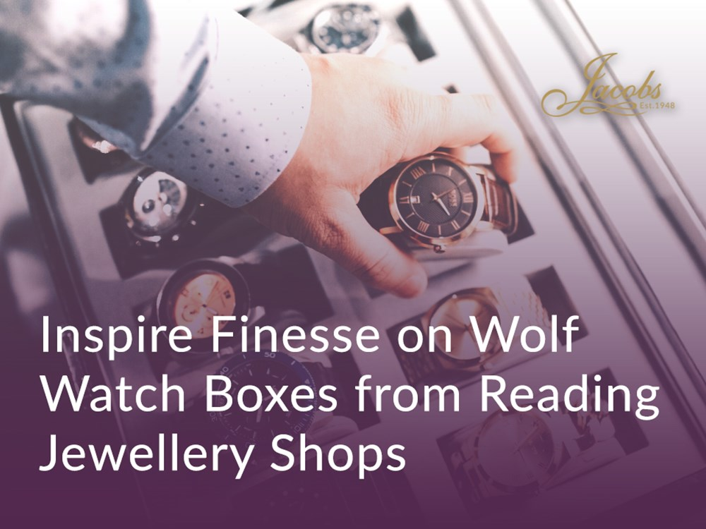Inspire Finesse on Wolf Watch Boxes from Reading Jewellery Shops image