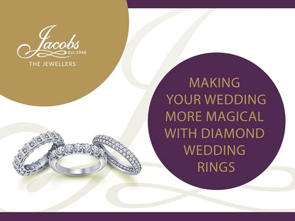 Making Your Weddings Magical With Diamond Wedding Rings image