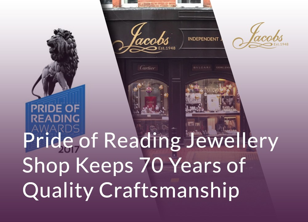 Pride of Reading Jewellery Shop Keeps 70 Years of Quality Craftsmanship