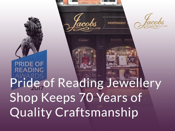 Pride of Reading Jewellery Shop Keeps 70 Years of Quality Craftsmanship image