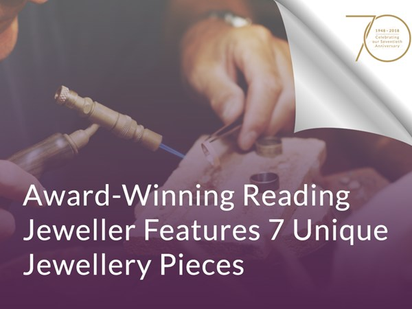 Award-Winning Reading Jeweller Features 7 Unique Jewellery Pieces image