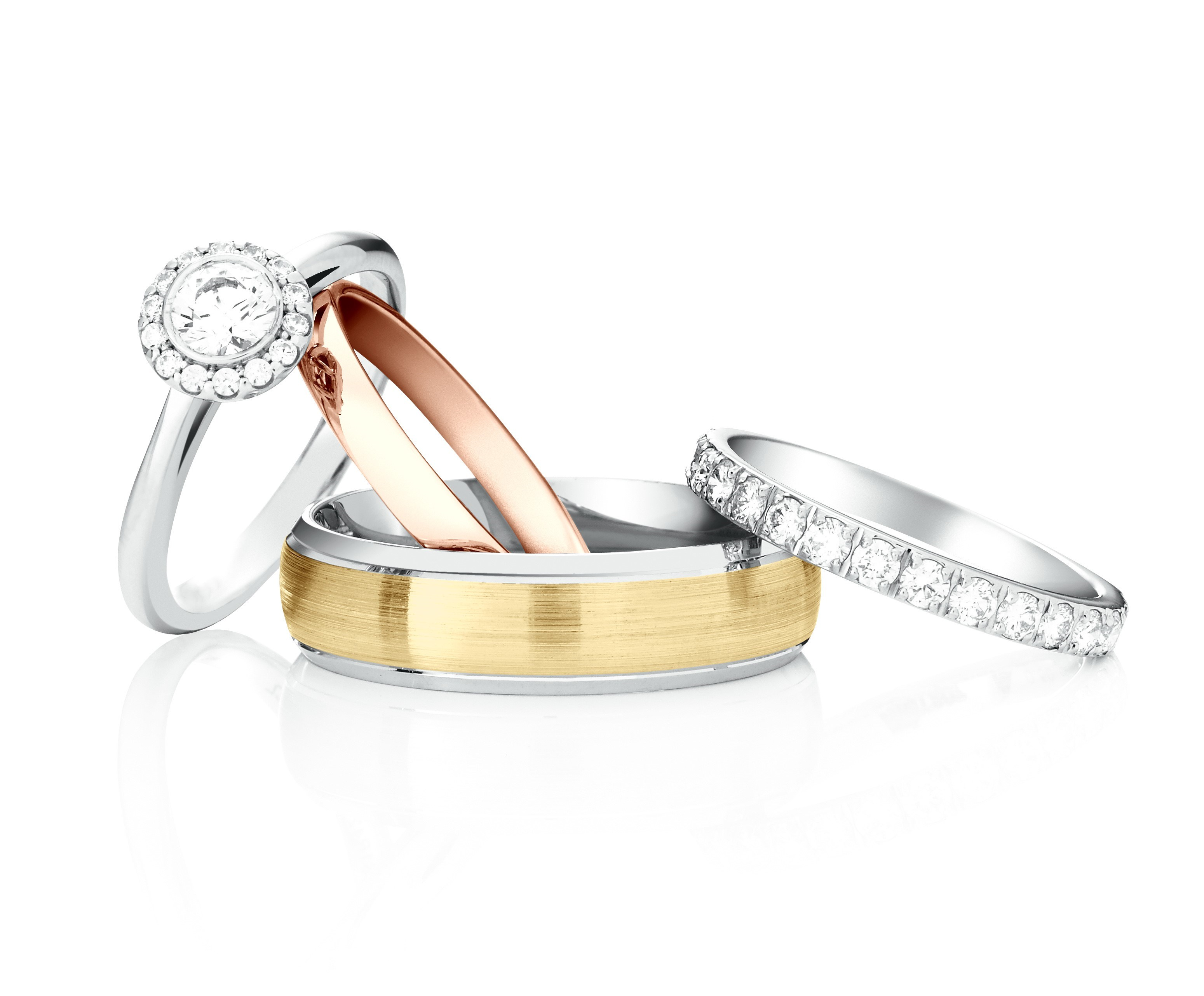 We can help you find the perfect engagement and wedding rings