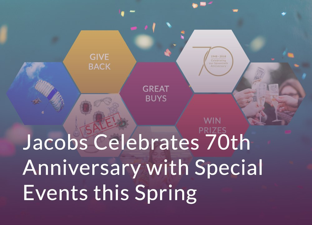 Jacobs Celebrates 70th Anniversary with Special Events this Spring image