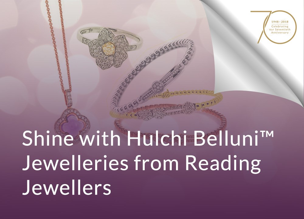 Shine with Hulchi Belluni™ Jewelleries from Reading Jewellers image