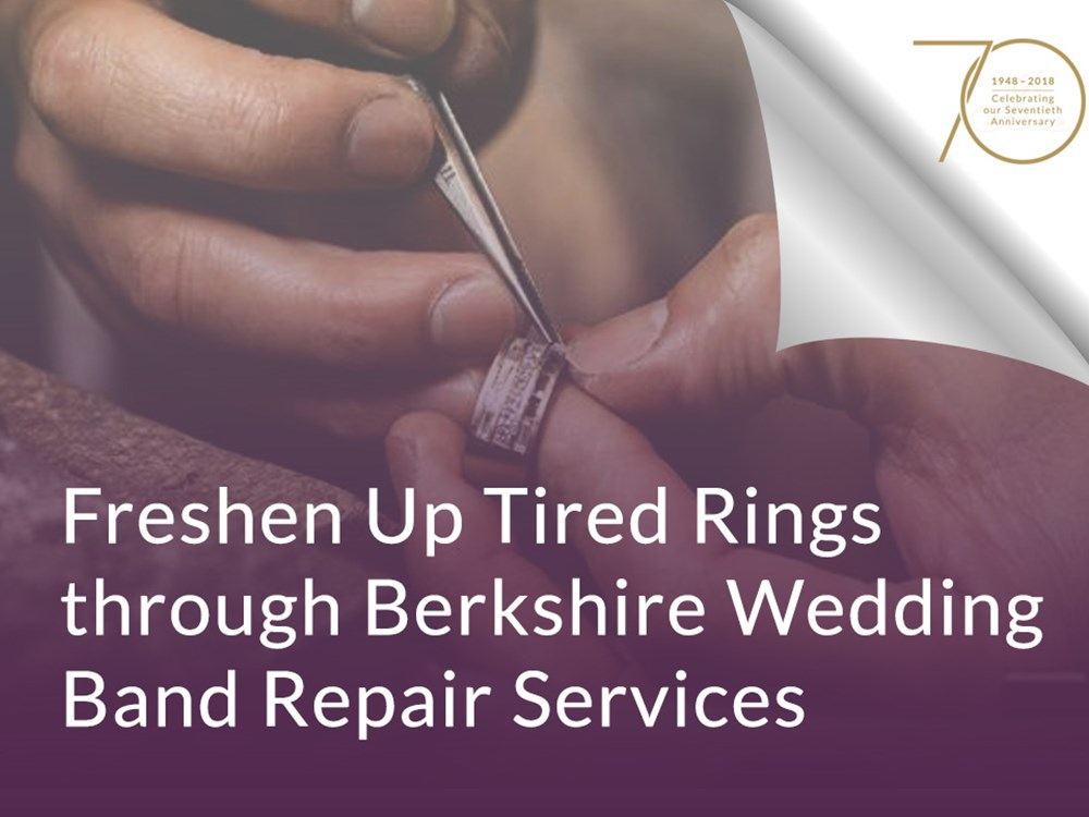 Freshen Up Tired Rings through Berkshire Wedding Band Repair Services image