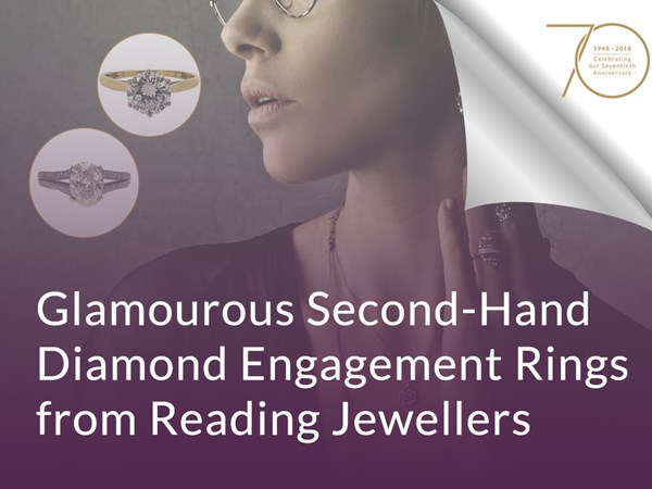 Glamourous Second-Hand Diamond Engagement Rings from Reading Jewellers image