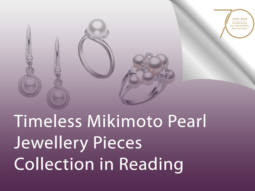 Timeless Mikimoto Pearl Jewellery Pieces Collection in Reading