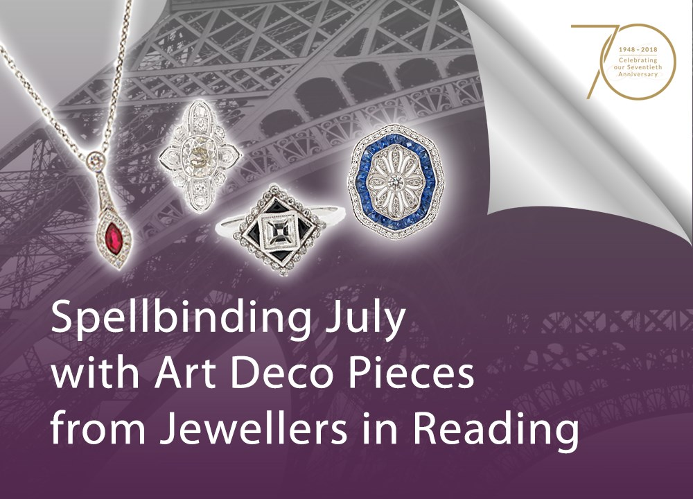 Spellbinding July with Art Deco Pieces from Jewellers in Reading image