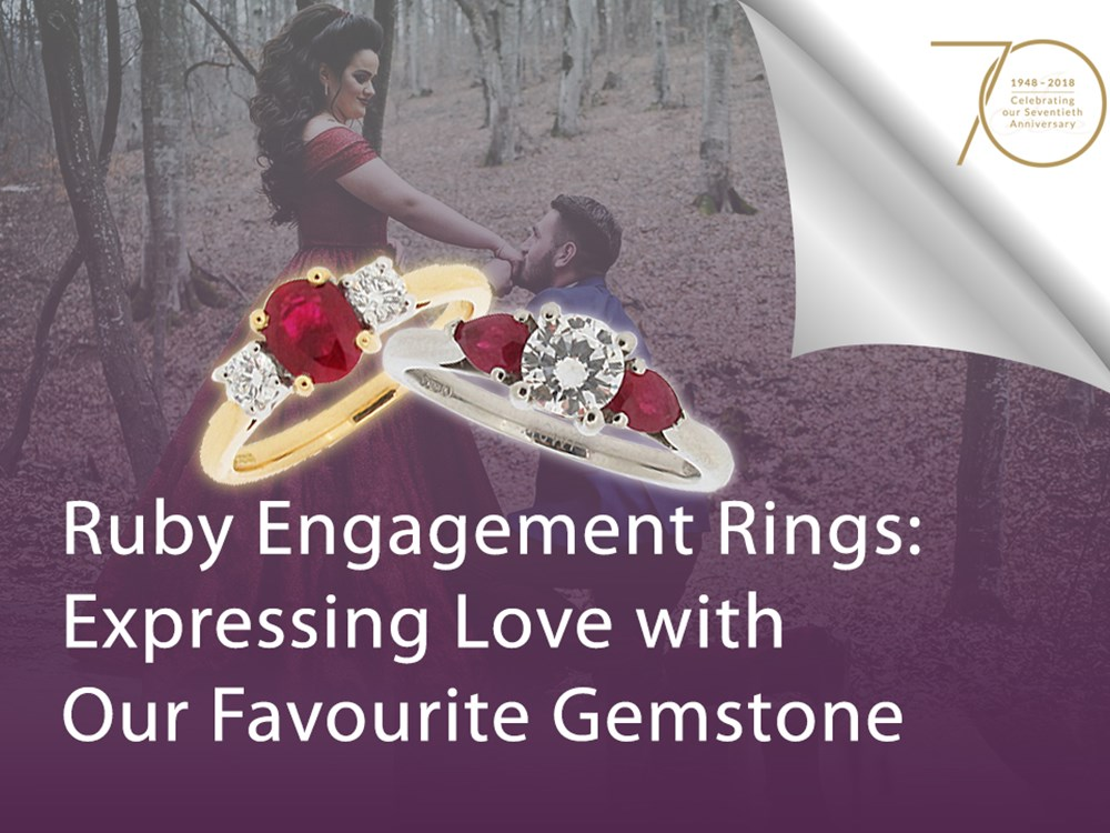 Ruby Engagement Rings: Expressing Love with Our Favourite Gemstone