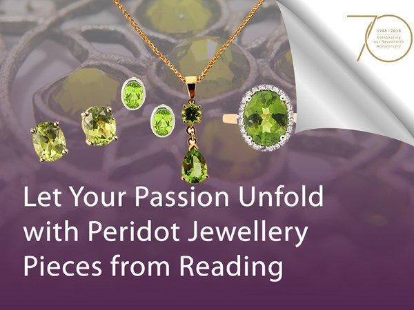 Let Your Passion Unfold with Peridot Jewellery Pieces from Reading image