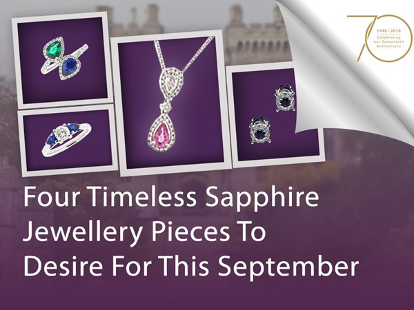 Four Timeless Sapphire Jewellery Pieces To Desire For This September image