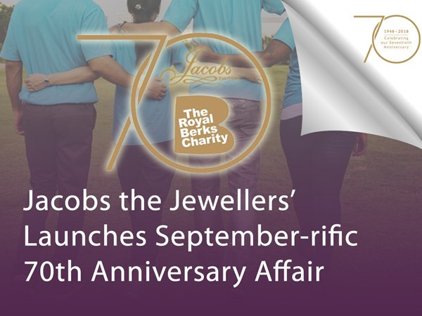 Jacobs the Jewellers' Launches September-rific 70th Anniversary Affair image
